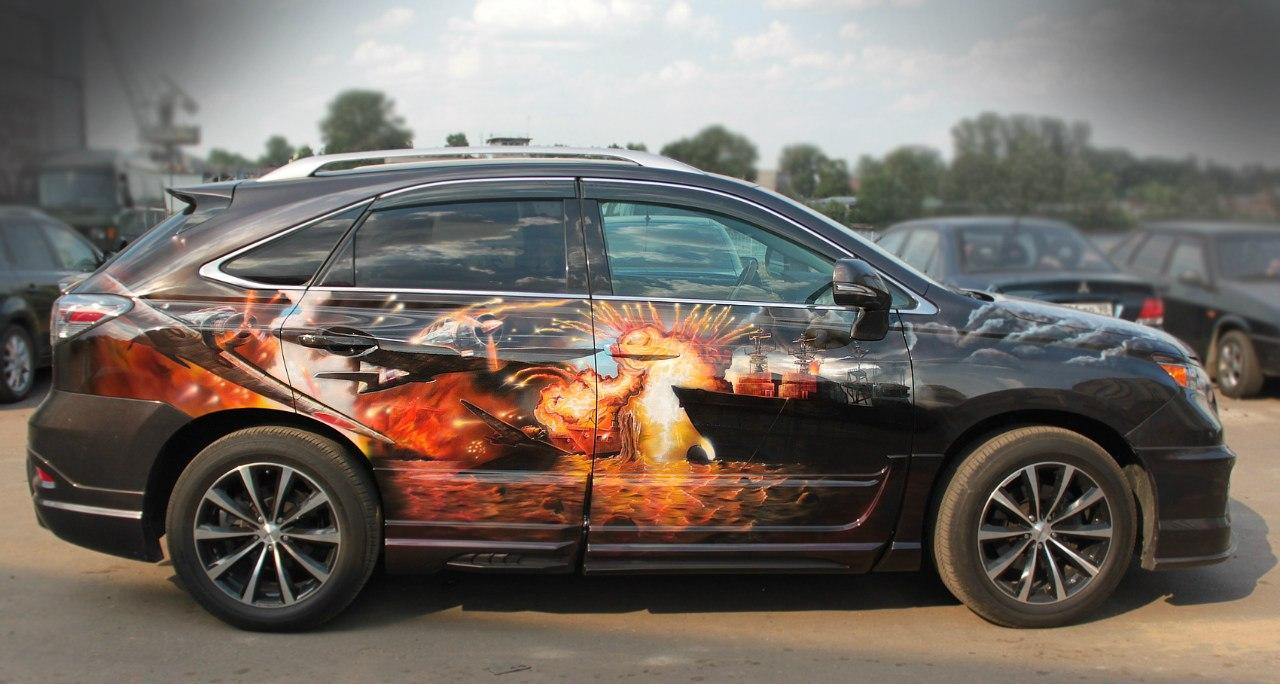 Перл Харбор на Lexus 9 элементов