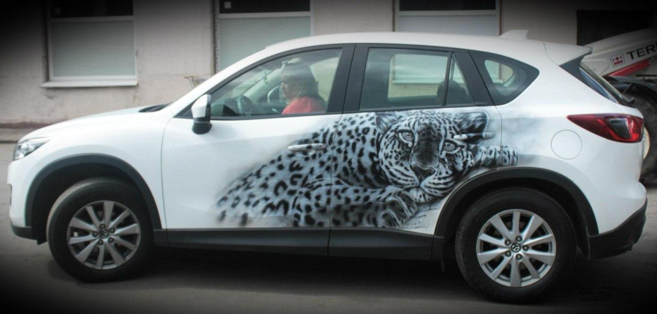 мазда cx5, леопард