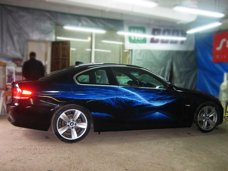 Молния на BMW