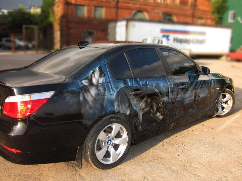 Казнь в лесу на BMW