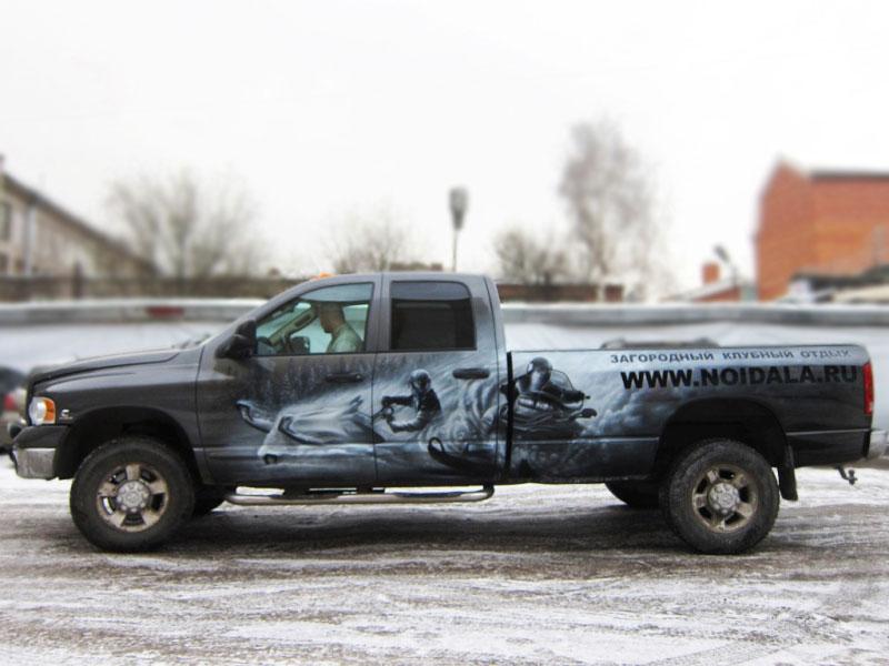 Снегоходы на Dodge
