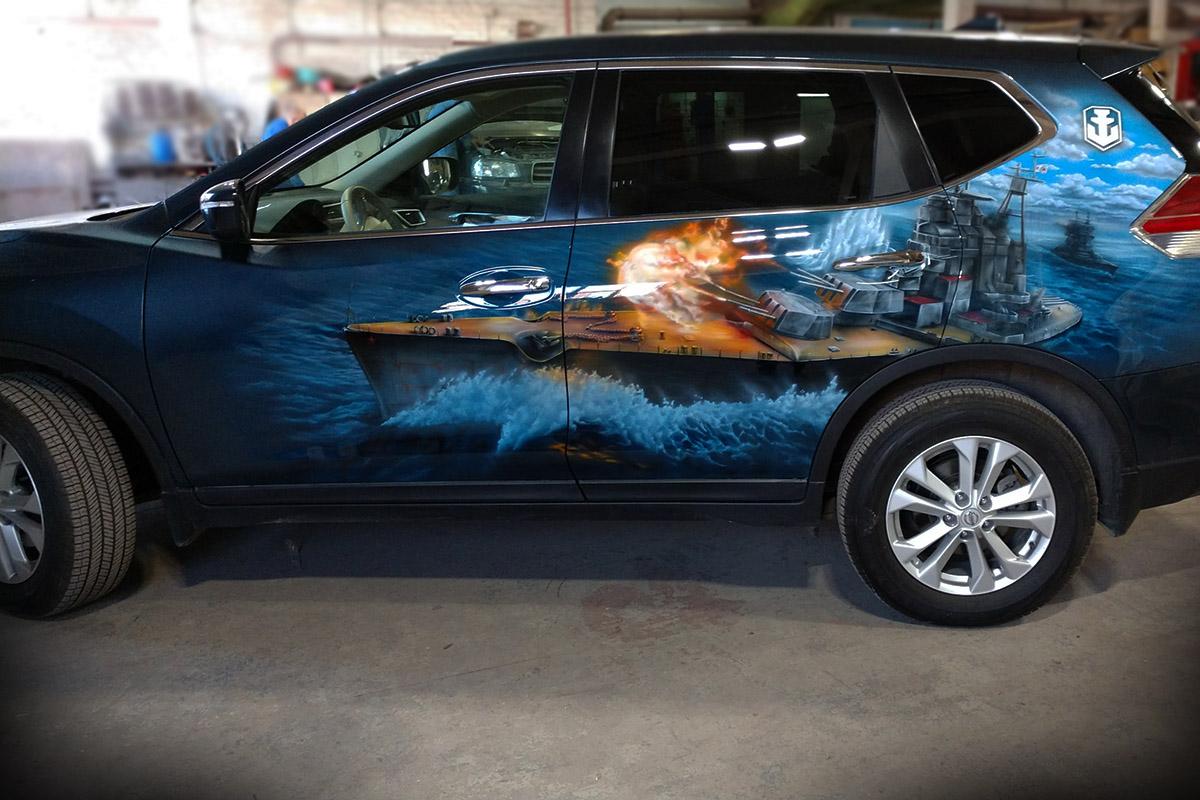 Nissan Крейсер»Москва»